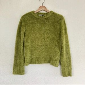 VINTAGE FLUFFY LONG SLEEVE SWEATER